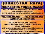 ORKESTRA RÜYA DENİZLİDEKİ ORKESTRALAR TAVASTA ORKESTRALAR KARACASUDA ORKESTRALAR ARAYANLAR