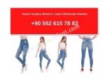 Export Surplus Womens Jeans Wholesale Istanbul